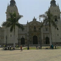 Photo taken at Plaza Mayor de Lima by Yondaime R. on 1/14/2013