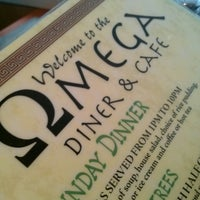 Photo taken at Omega Diner by Mary E. on 6/23/2013