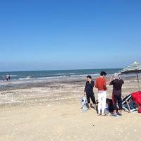 Photo taken at New Damietta Beach by Şâzeli A. on 2/3/2016