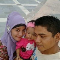 Photo taken at Stadion Utama Riau by Afriwanto on 6/29/2013