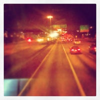 Photo taken at Northgate and I-5 Overpass by Matthew R. on 3/15/2013