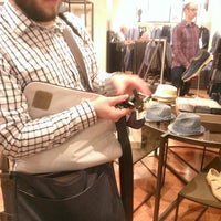 Photo taken at Banana Republic by Matthew R. on 3/14/2015