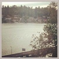 Photo taken at Salmon Bay Bridge by Matthew R. on 6/26/2014