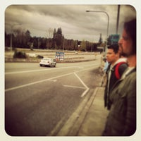 Photo taken at Sound Transit Bus Stop #71335 by Matthew R. on 4/3/2013