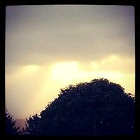 Photo taken at Cypress Lawn Memorial Park by Matthew R. on 4/20/2014