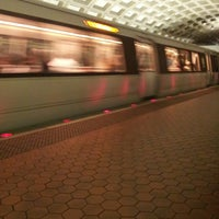 Photo taken at Farragut West Metro Station by Victor P. on 4/29/2013