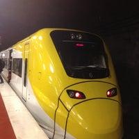Photo taken at Arlanda Express (Arlanda S) by Taka W. on 11/15/2012