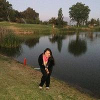 Photo taken at Santiago Club de Golf by Guillermo P. on 12/1/2013