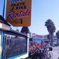 Photo taken at Sea Mist Skate & Bike Rentals by Julian K. on 11/9/2013