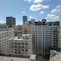 Photo taken at Portland Marriott City Center by Julian K. on 4/15/2017