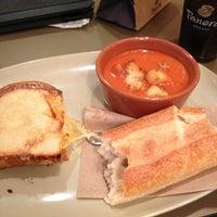 Photo taken at Panera Bread by Tanya B. on 12/26/2012