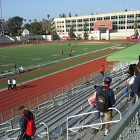 Photo taken at Robinson Stadium by Huisha B. on 3/23/2013