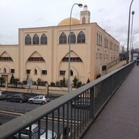 Photo taken at Mosquée Al-Ihssan by Mao B. on 1/24/2014