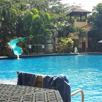 Photo taken at Araya Swimming Pool by Selly t. on 4/20/2016