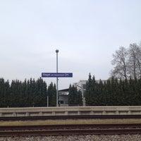 Photo taken at Bahnhof Riegel am Kaiserstuhl Ort by Stefan G. on 4/1/2014