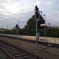 Photo taken at Bahnhof Riegel am Kaiserstuhl Ort by Stefan G. on 10/1/2013