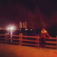 Photo taken at Ancol Beach by budiaji O. on 2/13/2014
