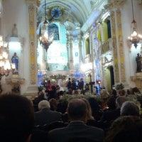 Photo taken at Igreja Santa Cruz dos Militares by Leonardo Z. on 9/15/2012