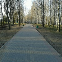 Photo taken at Парк 60-летия Октября by Андрей К. on 4/25/2013
