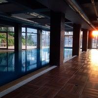 Photo taken at Hayat Merit Life Swimming Pool by Ergin G. on 1/31/2016