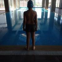 Photo taken at Hayat Merit Life Swimming Pool by Ergin G. on 4/17/2016