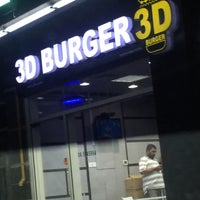 Photo taken at 3D burger by Moh'd A. on 2/11/2015