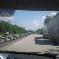 Photo taken at Auf der Autobahn in Richtung Hamburg by Signe S. on 5/31/2013
