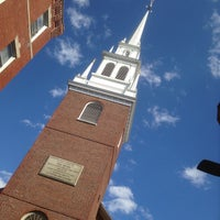 Das Foto wurde bei The Old North Church von David S. am 8/9/2014 aufgenommen