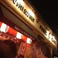 Photo taken at Sushi Saurus by David S. on 10/6/2013