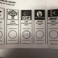 Photo taken at 50.Yıl Ahmet Merter İlköğretim Okulu by Avşin O. on 3/30/2014