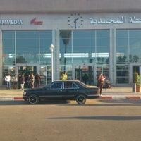 Photo taken at Gare de Mohammédia  محطة المحمدية by Taqa-allah M. on 12/27/2012
