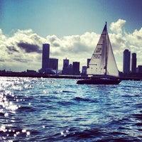 Photo taken at Milwaukee Community Sailing Center by Leonard O. on 8/31/2013