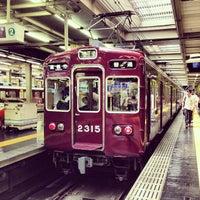 Photo taken at Hankyu Umeda Station (HK01) by Minako S. on 7/7/2013
