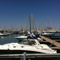 Photo taken at Larnaca Marina by We Heart D. on 4/27/2013