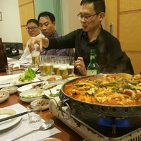 Photo taken at MIRIM Restaurante Coreano | 미림 by Ben L. on 6/16/2016