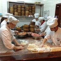 Photo taken at Din Tai Fung by Алена М. on 3/26/2013