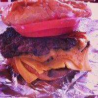 Photo taken at Five Guys by VISUAL R. on 3/23/2013