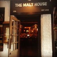 Photo taken at The Malt House by Zach Peak P. on 5/8/2013