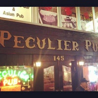 Photo taken at Peculier Pub by Zach Peak P. on 12/7/2012