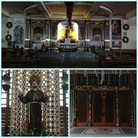 Photo taken at St. Francis of Assisi Parish Church by Nico Q. on 12/26/2012