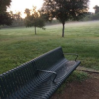 Photo taken at the Thomas family bench by Robert G. on 7/27/2014