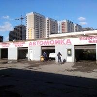 Photo taken at Автомойка by Антон М. on 3/28/2014