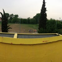 Photo taken at Polisportiva Olimpia Gazzera by Mirko T. on 4/29/2013
