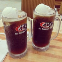 Photo taken at A&W by Aizat A. on 10/4/2013