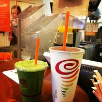 Photo taken at Jamba Juice Crossroads Towne Center by Suzanne M. on 1/5/2014