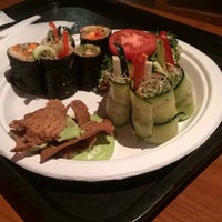 Photo taken at Tsom Vegetarian Flavors by Suzanne M. on 2/2/2014