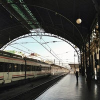 Photo taken at Valencia North Railway Station (YJV) by Jordi A. on 7/20/2013