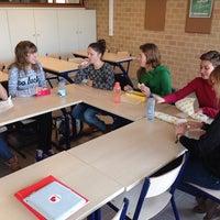 Photo taken at Pius X College & O.L.V. Instituut by Stijn B. on 11/21/2013