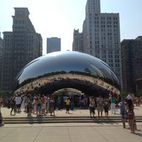 Photo taken at Millennium Park by Barton S. on 7/5/2013