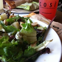 Photo taken at Cosi by Charlotte J. on 1/11/2013